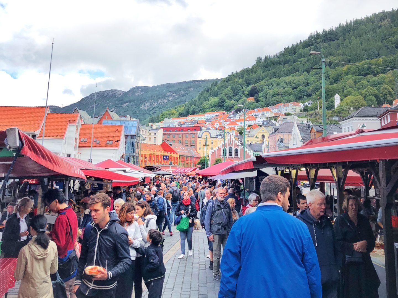 Bergen Norway Fish Market: Dinner and Local Delicacies